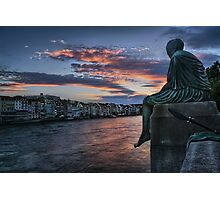 Contemplating Life in Basel Photographic Print