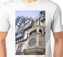 St George & the Dragon Clock Unisex T-Shirt
