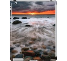 Clearing Storm At Montauk Point iPad Case/Skin