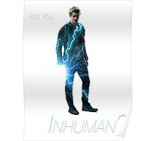 Lincoln from Agents of SHIELD - Are You Inhuman? Poster