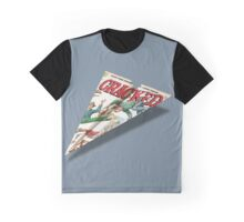 MAD Paper Airplane Cracked 112 Graphic T-Shirt