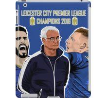 Leicester City - Premier League Champions 2016 iPad Case/Skin
