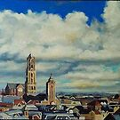 Utrecht Skyline by Cameron Hampton