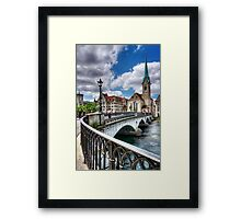Old Zurich Framed Print