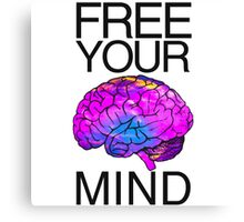 #FREEYOURMIND! Canvas Print