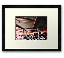 Mzoli's Cape Town Framed Print