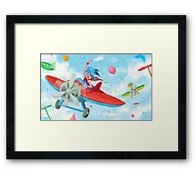 Toy Planes Framed Print