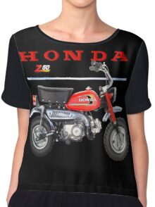 Honda ZA 50 Vintage Mini bike Chiffon Top