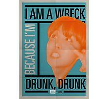 BTS Bauhaus Poster 2 Photographic Print