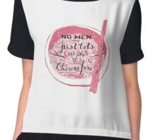 No men Women's Chiffon Top