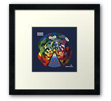 The Rainbow Road Framed Print