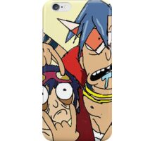 rick and morthy iPhone Case/Skin