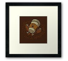 Coffee Angel Framed Print