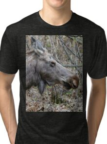 Moose Profile Tri-blend T-Shirt