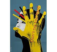 BTS Bauhaus Poster 4 Photographic Print