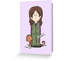 monkeys ? Greeting Card