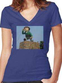 Flintabattey Flonnatin Women's Fitted V-Neck T-Shirt