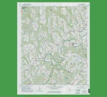 USGS TOPO Map Alabama AL Nectar 304659 1961 24000 Baby Tee