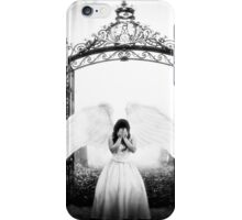 Weeping angel iPhone Case/Skin