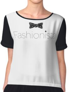 Fashionista Chiffon Top