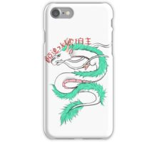 River spirit Haku iPhone Case/Skin