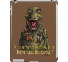 "Firefly: ""Curse your sudden but inevitable betrayal!"" iPad Case/Skin"