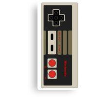 Nintendo old school joystick Canvas Print