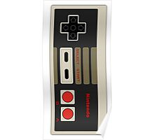 Nintendo old school joystick Poster