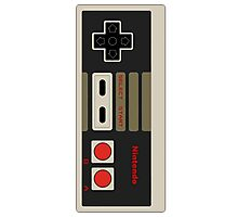 Nintendo old school joystick Photographic Print