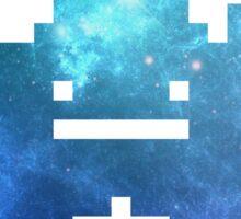 My Chemical Romance - 8-Bit Jet Star Logo (Space) Sticker