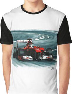 2011 Ferrari 150° Italia Graphic T-Shirt