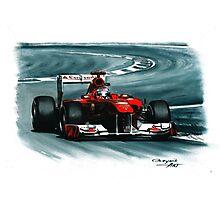2011 Ferrari 150° Italia Photographic Print