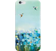 Hummingbirds in Nature iPhone Case/Skin