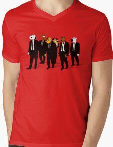 RESERVOIR HOUNDS Mens V-Neck T-Shirt