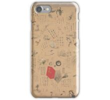 Miscellaneous Paintings and Calligraphy for the Third Year of the Bunsei Era,  iPhone Case/Skin