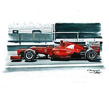 2012 Ferrari F2012 Photographic Print