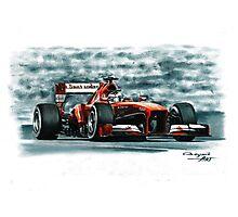 2013 Ferrari F138 Photographic Print