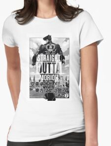 Josuke-straight outta morioh Womens Fitted T-Shirt