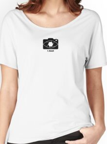 I shoot - black Women's Relaxed Fit T-Shirt