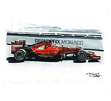 2014 Ferrari F14T Photographic Print