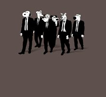 RESERVOIR HOUNDS (b&w) Unisex T-Shirt