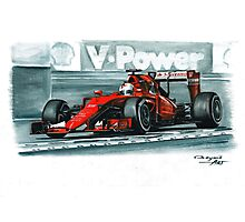 2015 Ferrari SF15-T Photographic Print