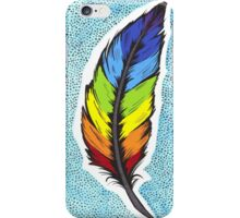 Rainbow Feather iPhone Case/Skin