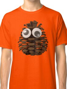 Googly-Eyed Pinecone Classic T-Shirt