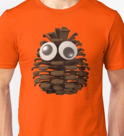 Googly-Eyed Pinecone Unisex T-Shirt