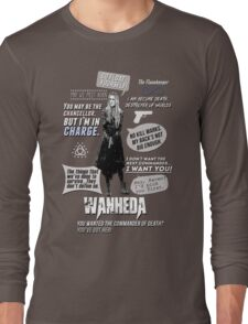 Wanheda - Clarke Griffin - Clexa - The 100 Long Sleeve T-Shirt