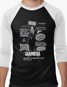 Wanheda - Clarke Griffin - Clexa - The 100 Men's Baseball ¾ T-Shirt