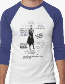Wanheda - Clarke Griffin - Clexa - The 100 Men's Baseball ¾ T-Shirt