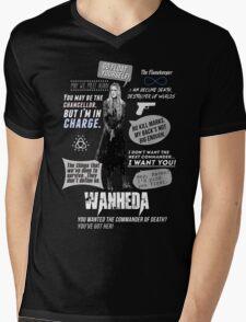 Wanheda - Clarke Griffin - Clexa - The 100 Mens V-Neck T-Shirt