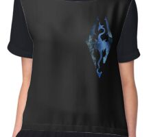 Skyrim Logo - Magic Chiffon Top